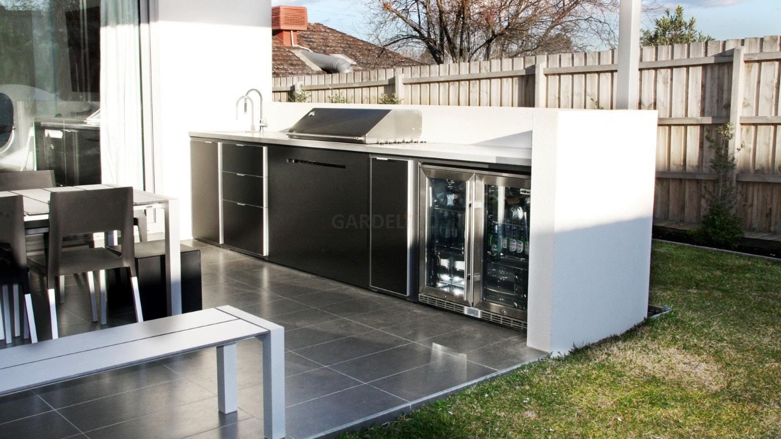 Outdoorküche Mit Spüle Zubehör : Moderne outdoor küche von fresco frames