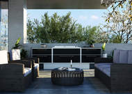 Proline 6 Aero Outdoor Küche von ProFresco mit BeefEater Proline Einbaugrill