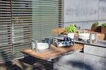 Auszugstisch von der BBQtion Outdoor Küche