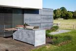 BBQtion Outdoor Küche mit concrete-Korpus