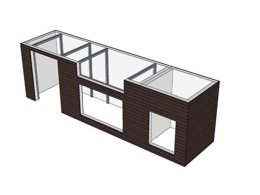 DIY Modul Outdoor Küche System selbst bauen