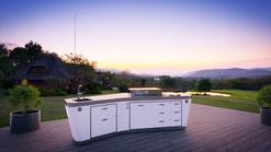 Outdoor Küche Open Sky von Avitrum in weiß