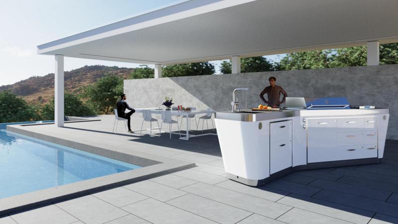 Avitrum OpenSky exklusive Design Outdoor Küche