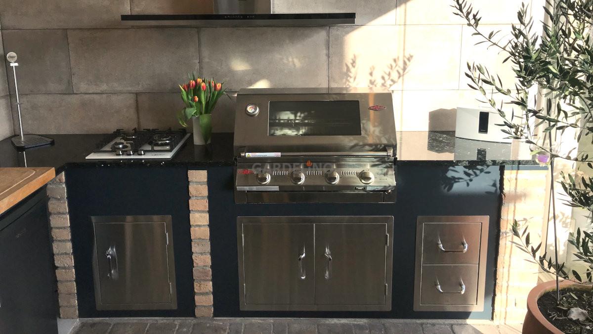 Outdoorküche Tür Reinigen : Beefeater outdoor küche bauen mit gardelino.de