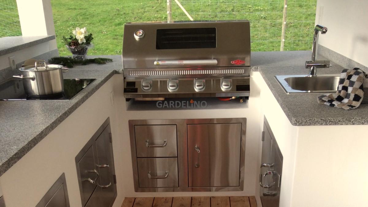 Outdoor Küche Edelstahl Erfahrungen : Beefeater outdoor küche bauen mit gardelino.de