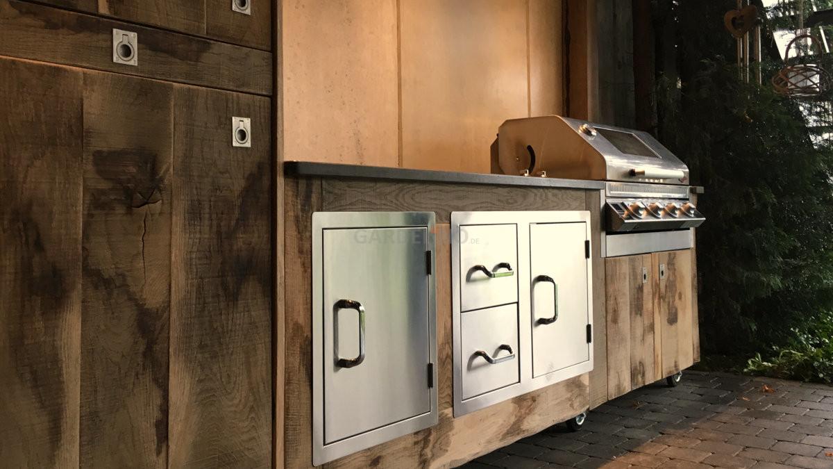 Outdoor Küche Aus Holz Bauen : Beefeater outdoor küche bauen mit gardelino