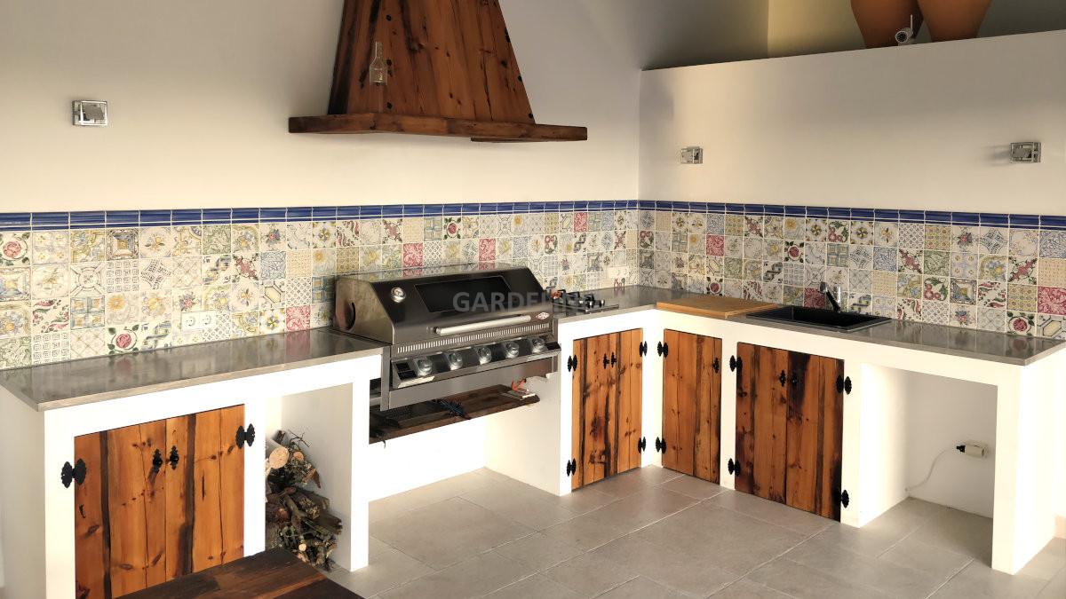 Outdoor Küche Rustikal : Beefeater outdoor küche bauen mit gardelino.de