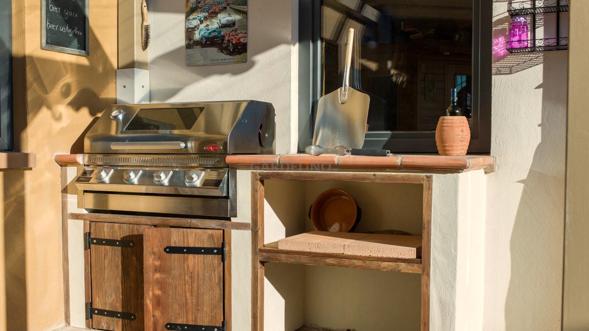 Kleine Outdoor Küche : Beefeater outdoor küche bauen mit gardelino