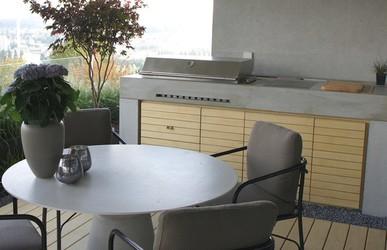 Beton Outdoor Küche Dade Design