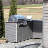 Cubic Outdoor Küche mit Grill