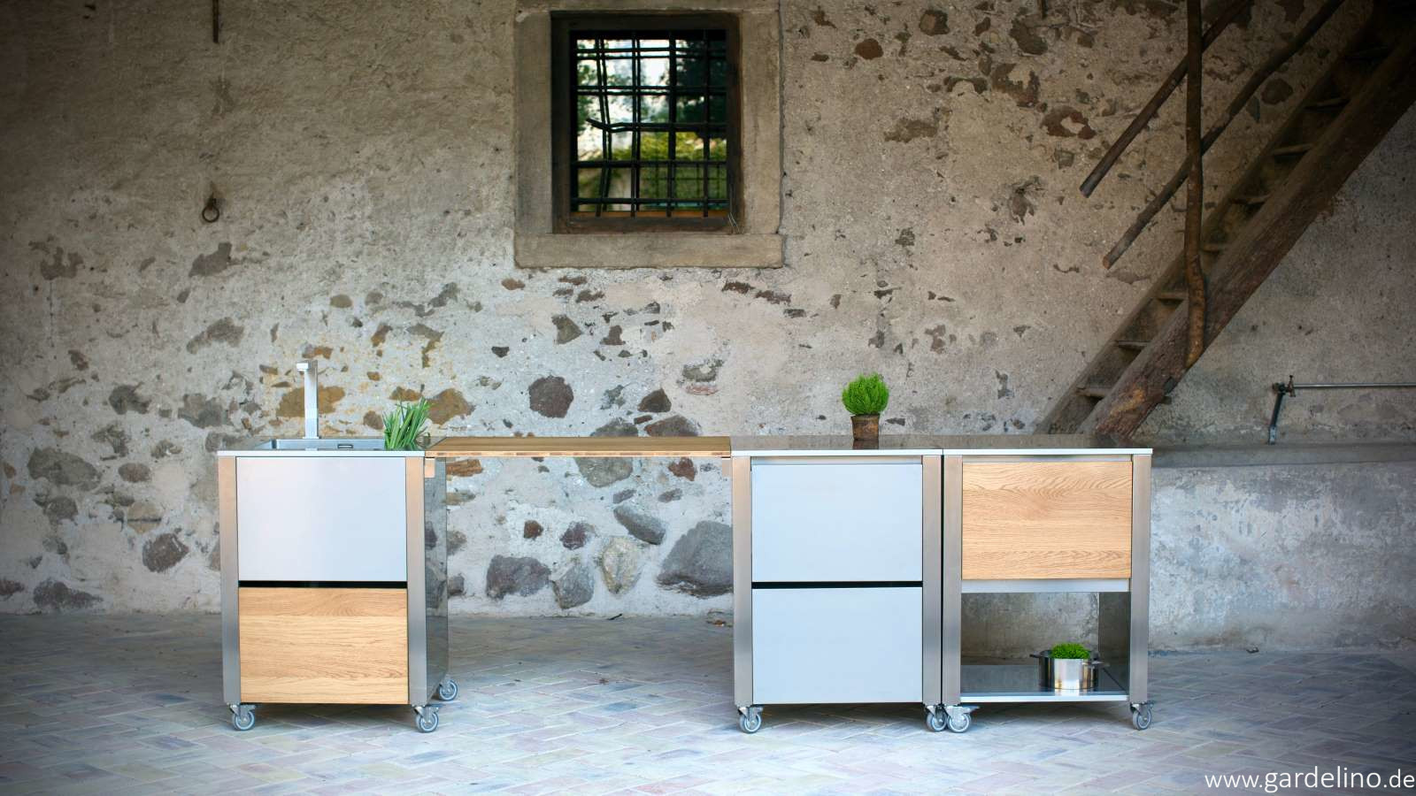 Outdoorküche Garten Edelstahl Kosten : Mobile outdoorküche cun von jokodomus system outdoorküche