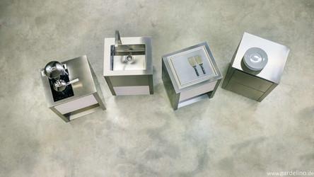 Verschiedene Module aus dem CUN Outdoorküchen System