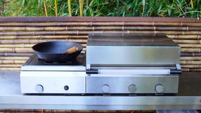 Kuirado Multigrill für die Outdoor Küche
