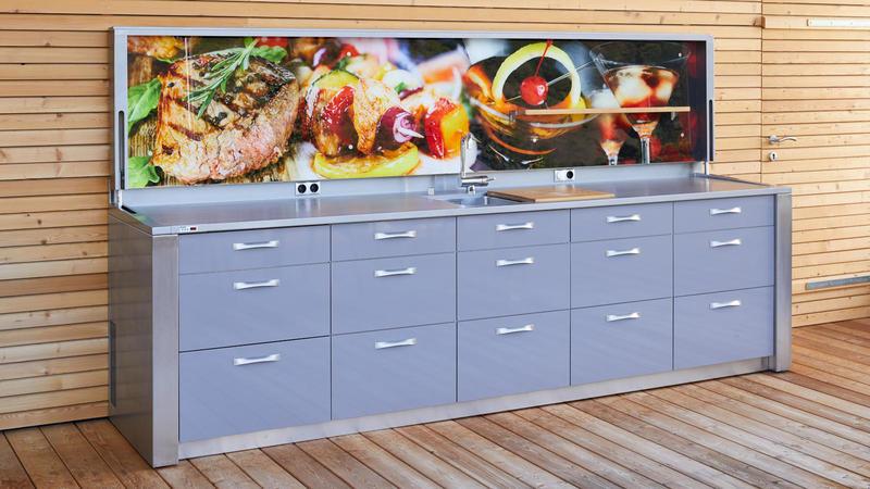 Open Air Outdoor Küche