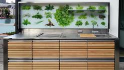 Open Air Outdoor Küche aus Holz