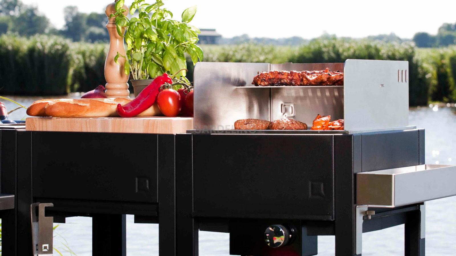 Outdoorküche Mit Gasgrill Vergleich : Oneq outdoorküche