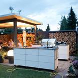 Zweiteilige System Outdoor Küche von Outline
