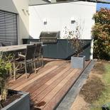 Outline modulare Outdoor Küche auf der Terrasse