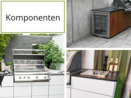 Komponenten für die System Outdoor Küche von Outline