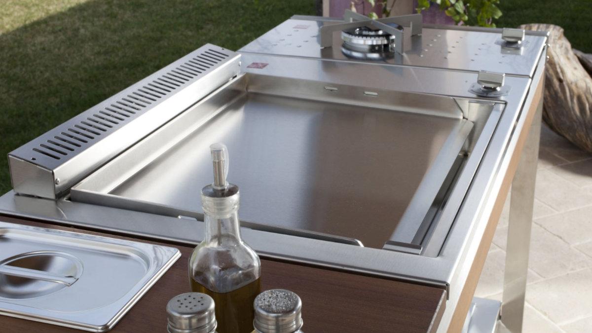 Outdoor Küche Edelstahl Preis : Modulare outdoorküche oasi von pla.net bei gardelino.de