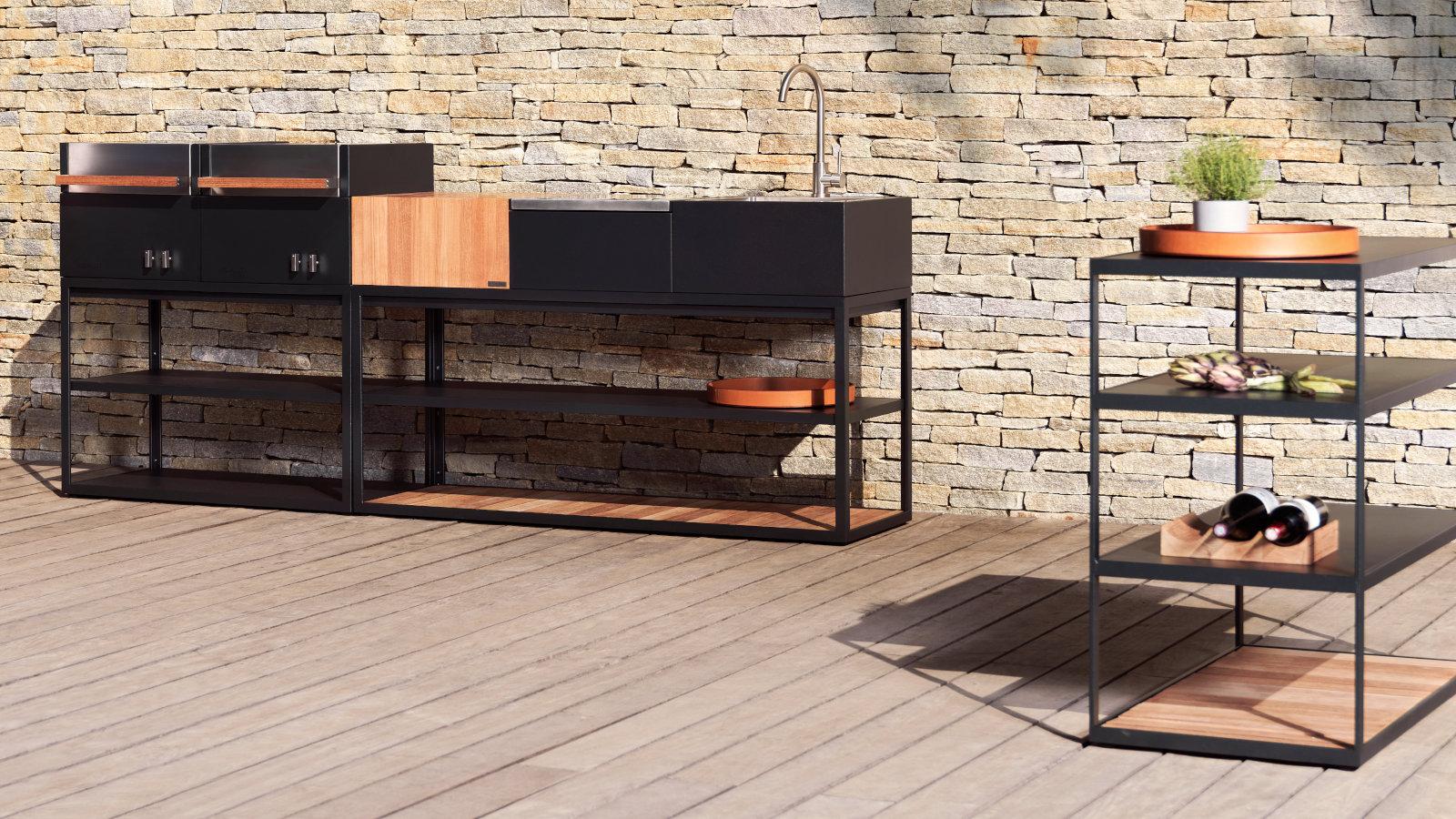 Designer Outdoor Kuche Open Kitchen Von Roshults