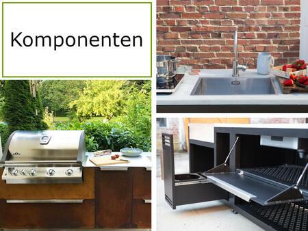 Komponenten der Twobold Gartenküche