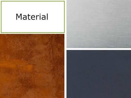 Material der Twobold Gartenküche