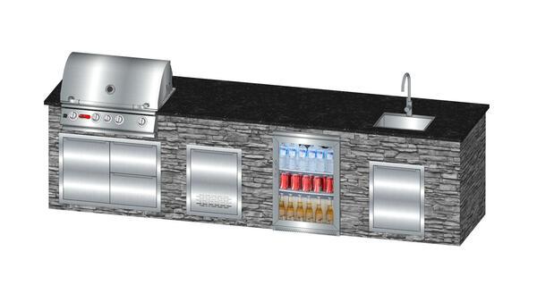 vivandio custom individuelle selbstgebaute Outdoor Küche Go