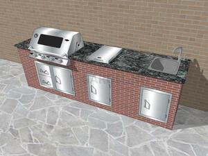 vivandio custom - Planung einer Outdoor Küche