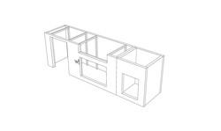 Mit dem optionalem CutOutKit werden dann Ausschnitte z.B. für einen Grill oder Kühlschrank umgesetzt