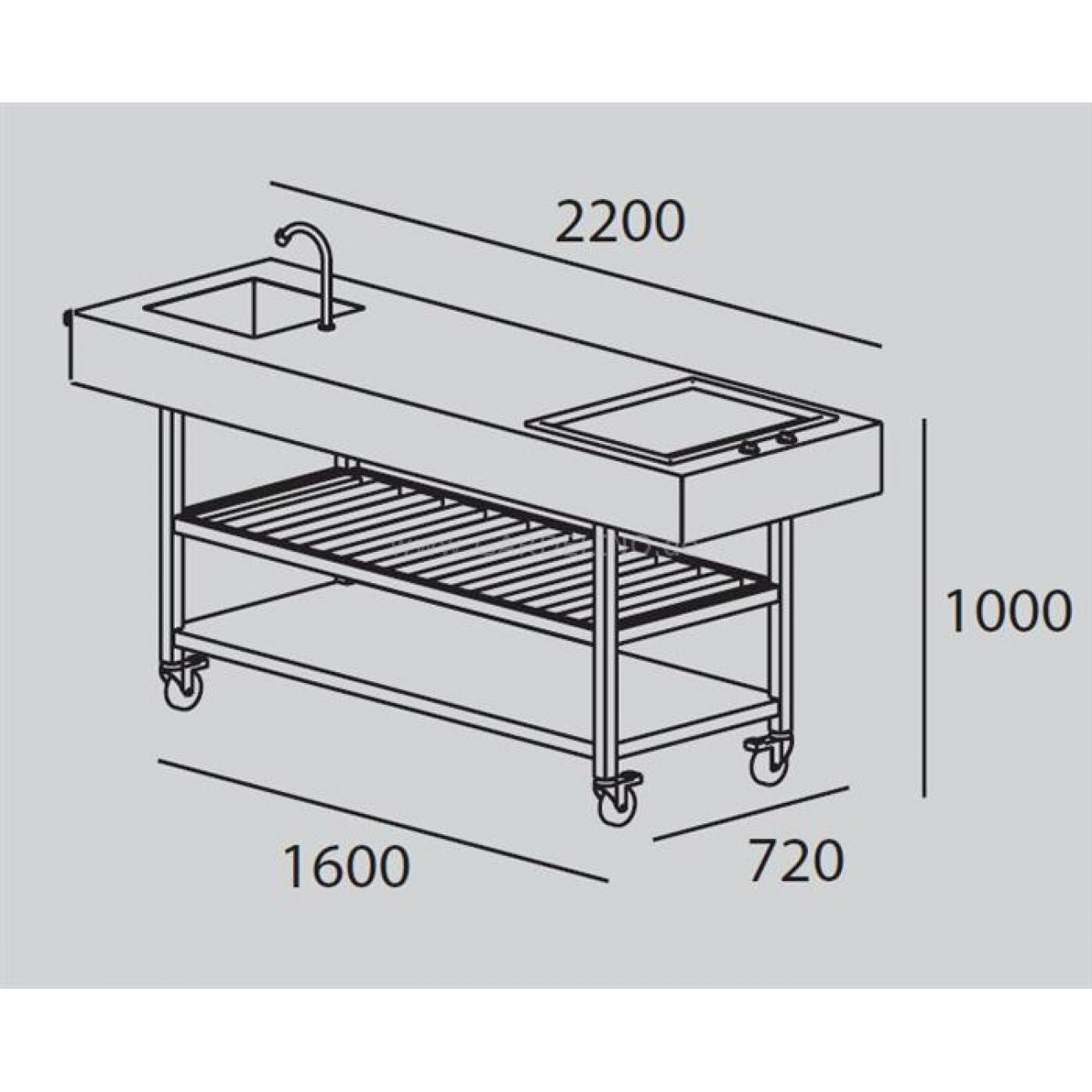 gartenk che selber bauen grillplatz essplatz gem tliche. Black Bedroom Furniture Sets. Home Design Ideas
