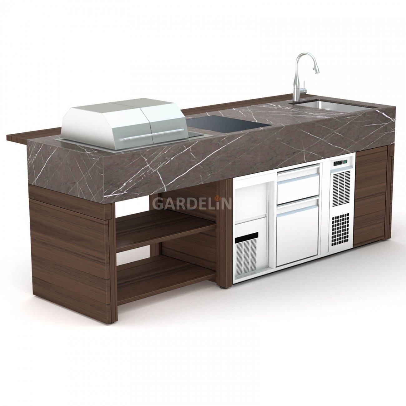 profi gartenk che bbqube professional. Black Bedroom Furniture Sets. Home Design Ideas