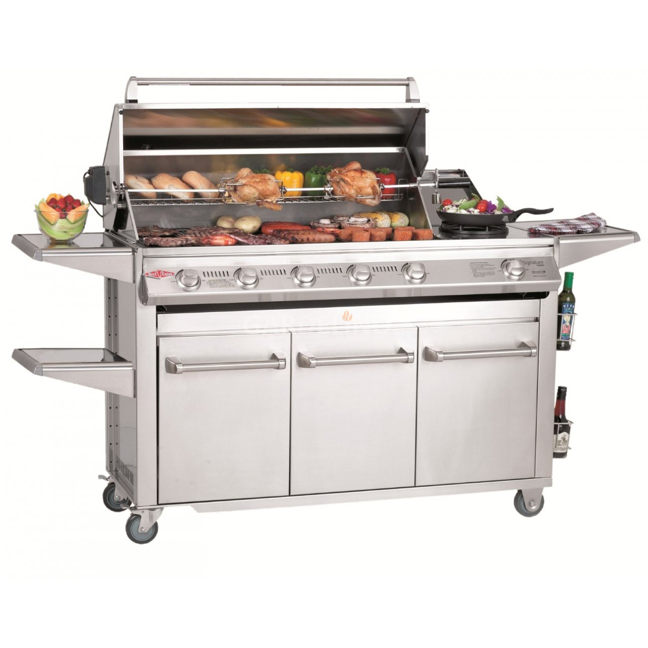 beefeater bbq gasgrill trolley signature sl 4000. Black Bedroom Furniture Sets. Home Design Ideas
