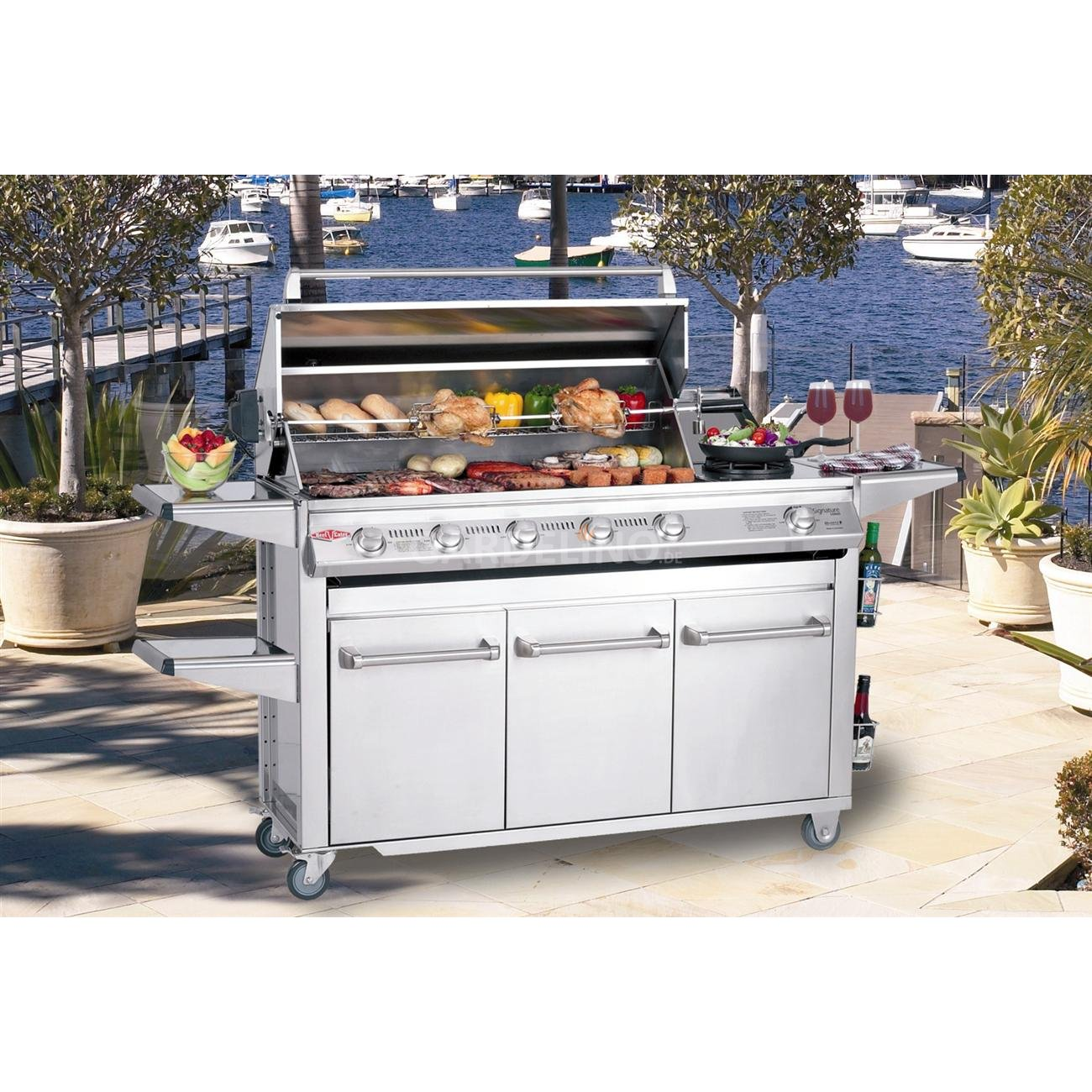 Beefeater Bbq Gasgrill Trolley Signature Sl 4000
