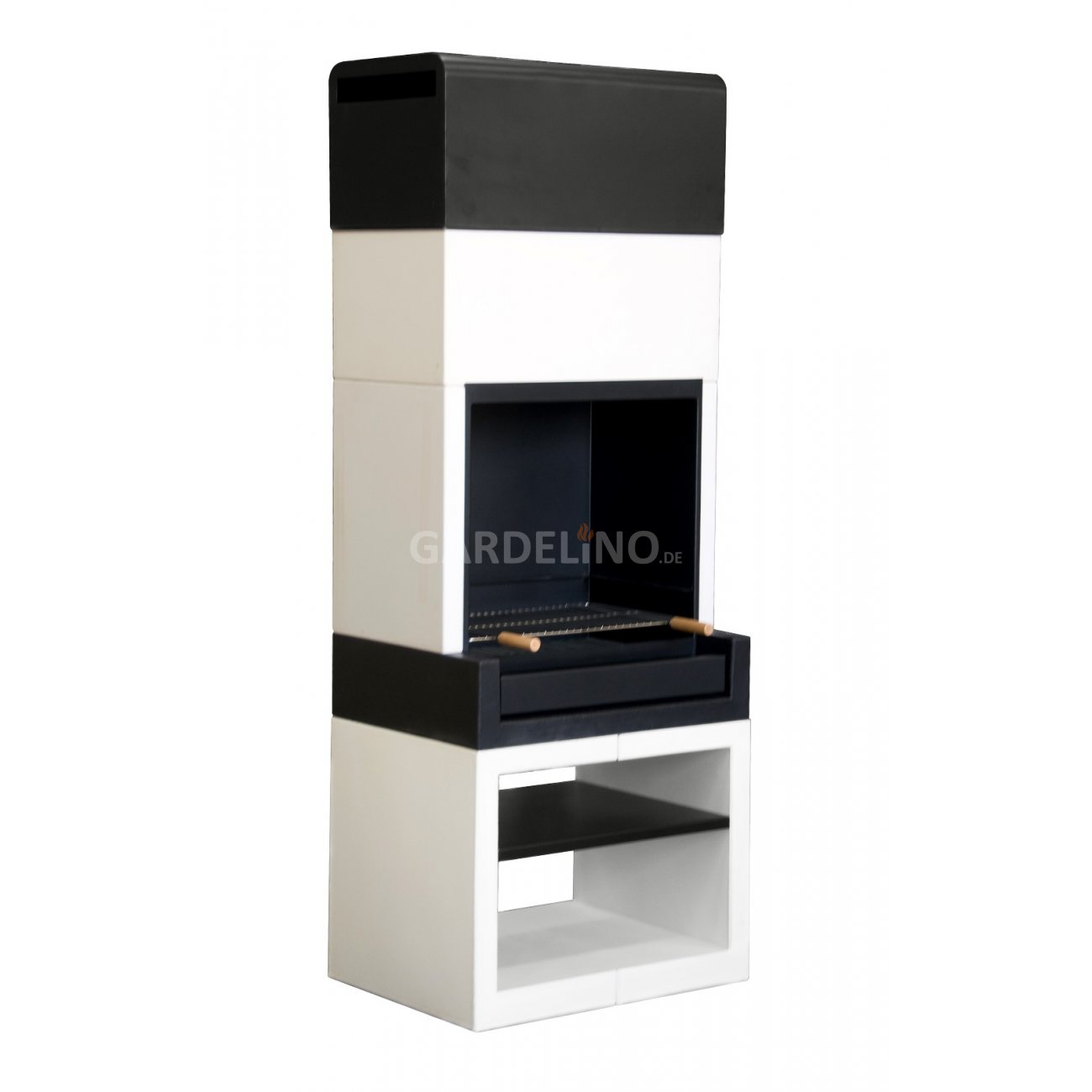 design grillkamin aus der kitaway outdoork chen serie. Black Bedroom Furniture Sets. Home Design Ideas