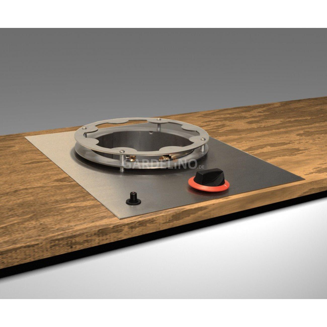 hochleitungs wok zum einbauen in eine outdoork che vor. Black Bedroom Furniture Sets. Home Design Ideas