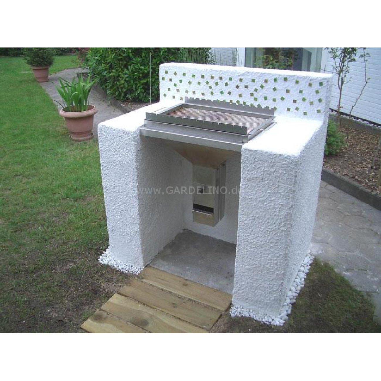 th ros ii grilleinsatz zum bau einer grillstation. Black Bedroom Furniture Sets. Home Design Ideas