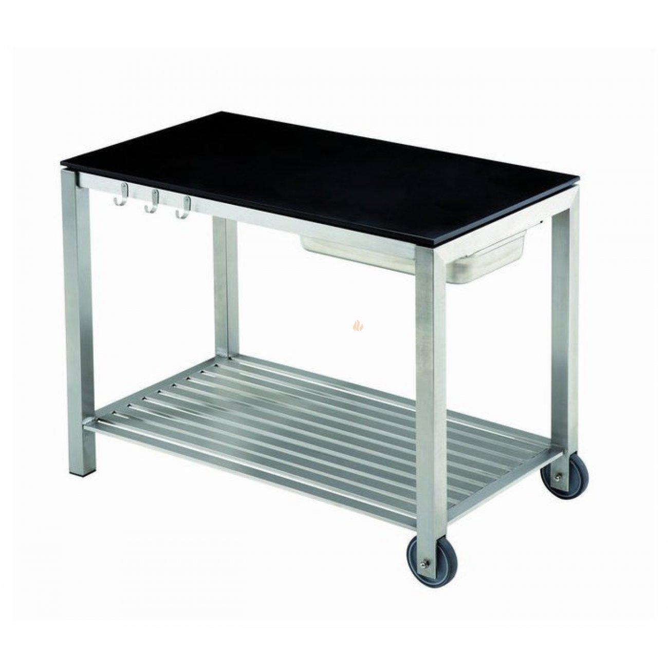 eno plancha console design trolley inox. Black Bedroom Furniture Sets. Home Design Ideas