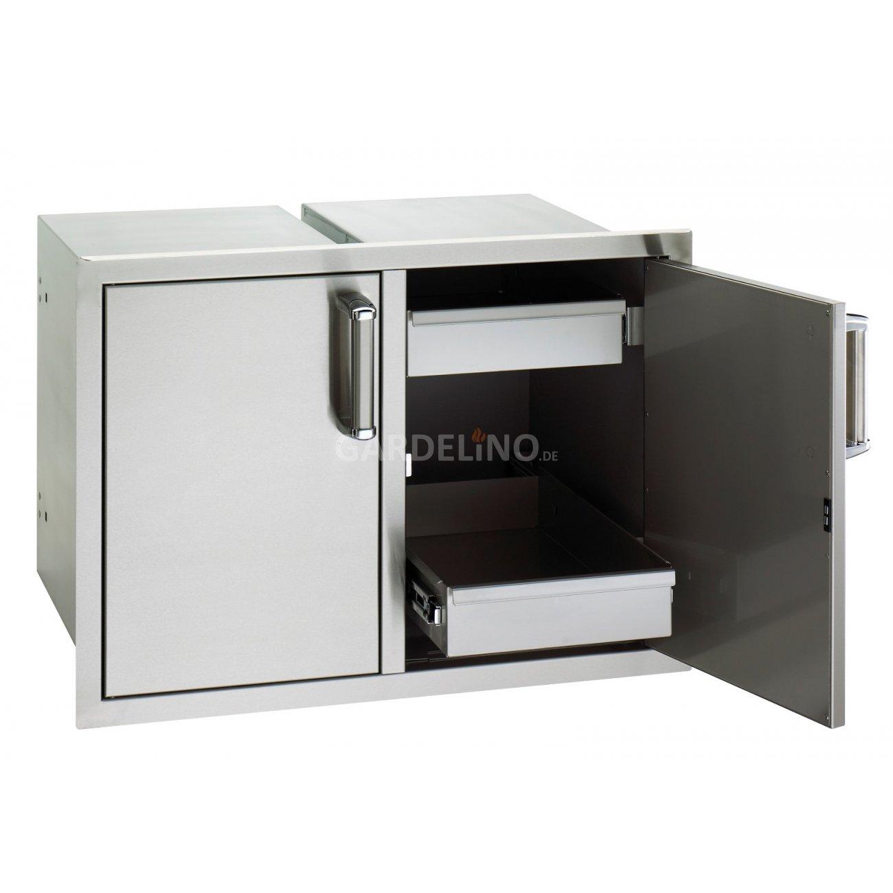 fire magic einbauschrank mit schubladen f r outdoork chen. Black Bedroom Furniture Sets. Home Design Ideas