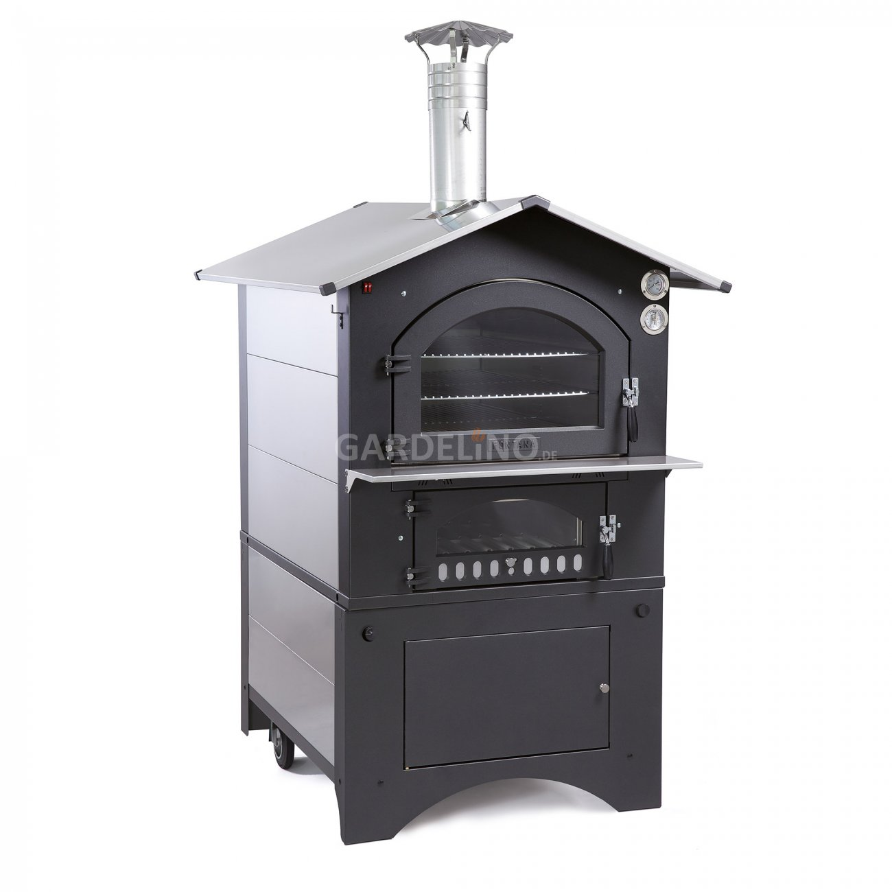garten holzbackofen fontana gusto ideal f r pizza. Black Bedroom Furniture Sets. Home Design Ideas