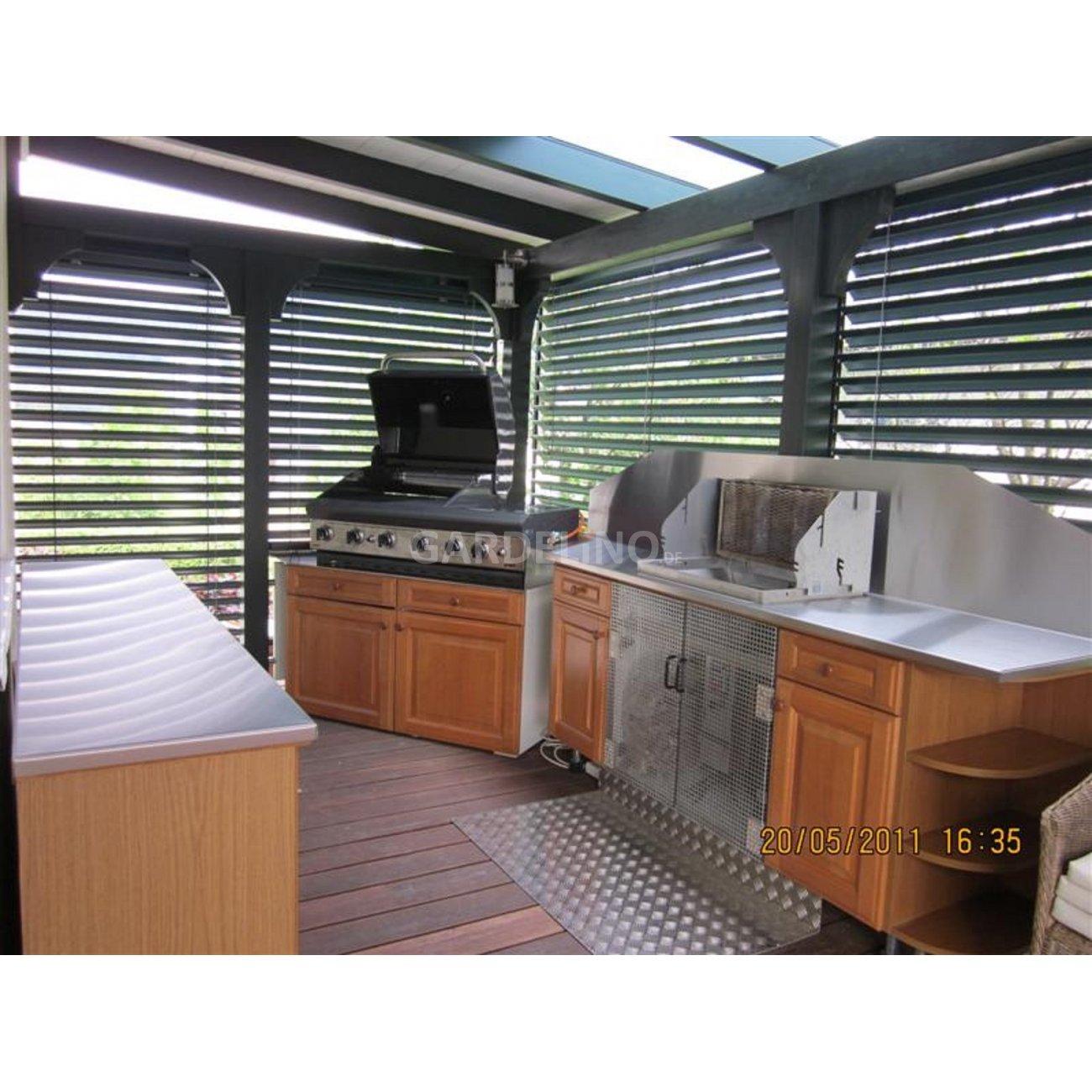 gartenk che swalif. Black Bedroom Furniture Sets. Home Design Ideas