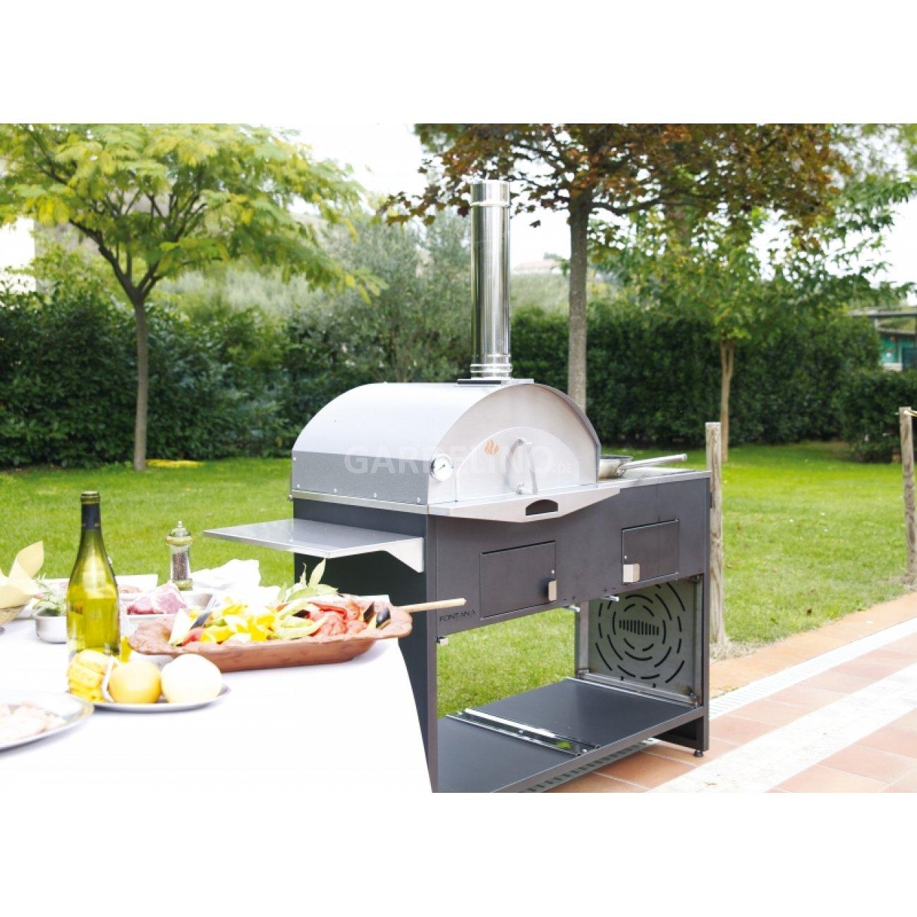 fontana doppio grill pizzaofen kombination, Garten und erstellen