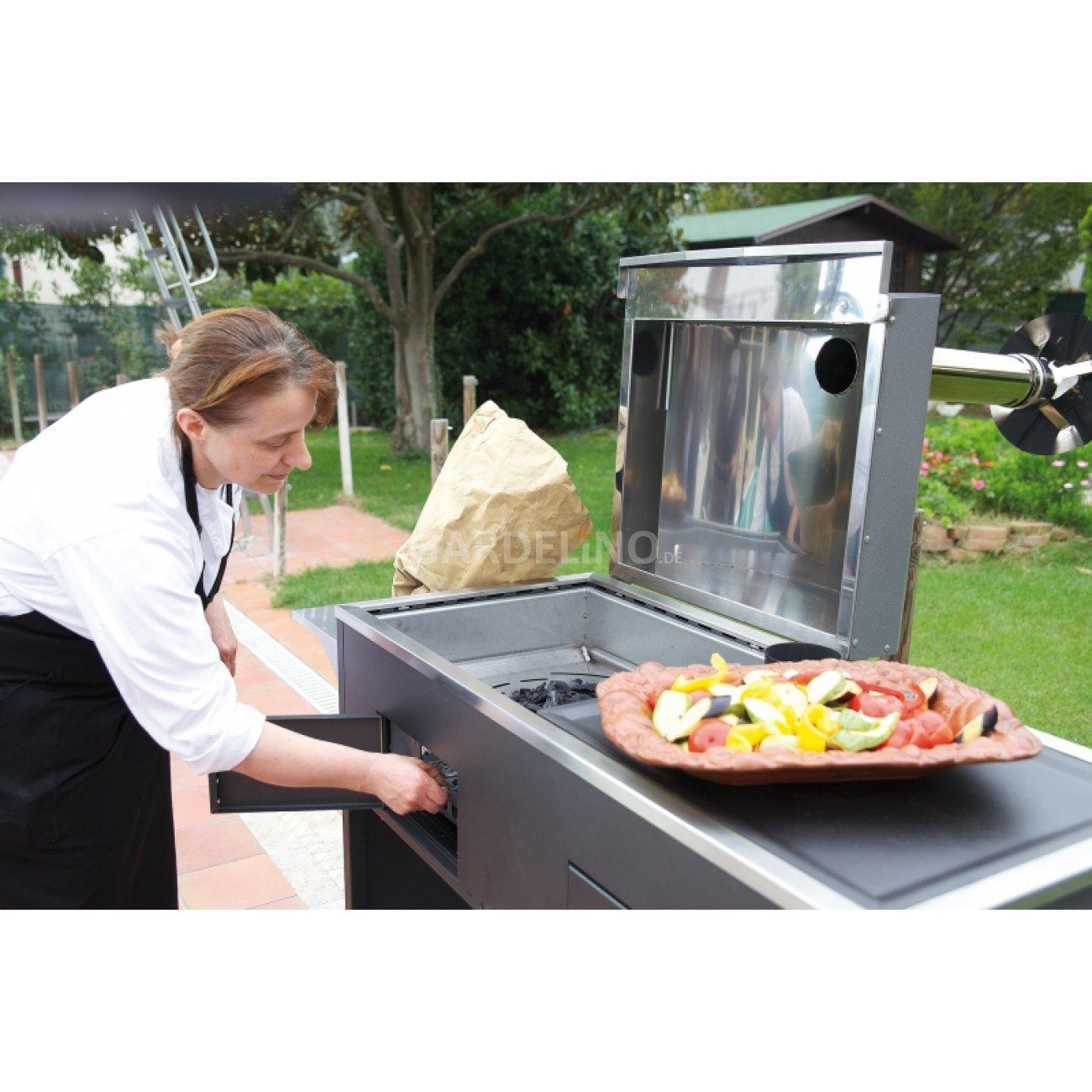 grill und pizzaofen kombiniert – rekem, Garten und Bauen