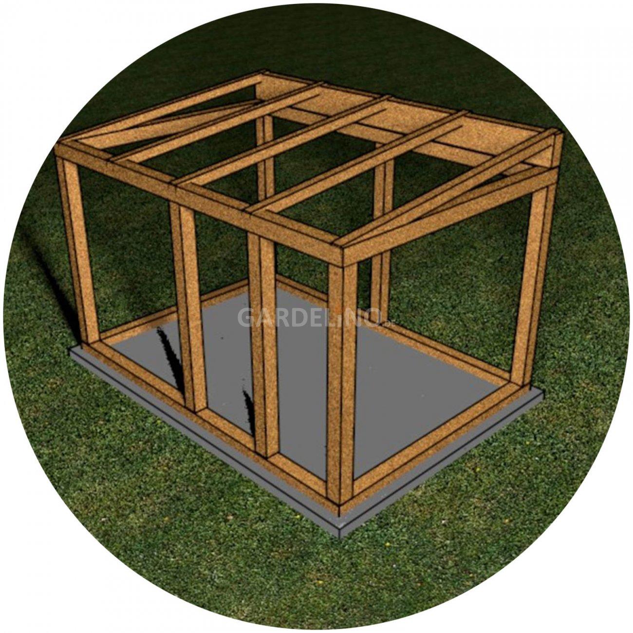 grillh tte bauen ein ratgeber f r den eigenbau einer h tte zum grillen. Black Bedroom Furniture Sets. Home Design Ideas