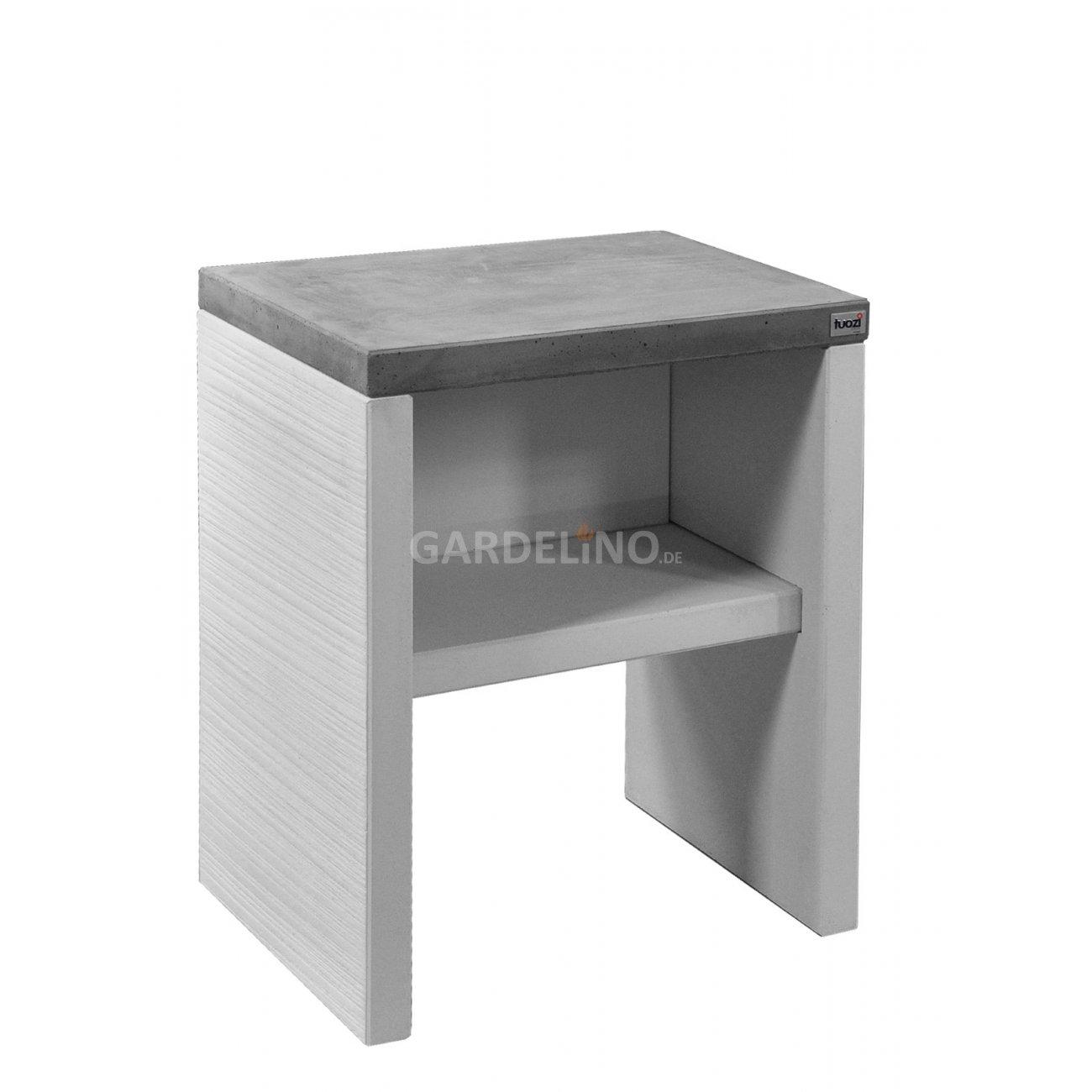 grillkamin beistelltisch aus beton tuozi plan serie. Black Bedroom Furniture Sets. Home Design Ideas