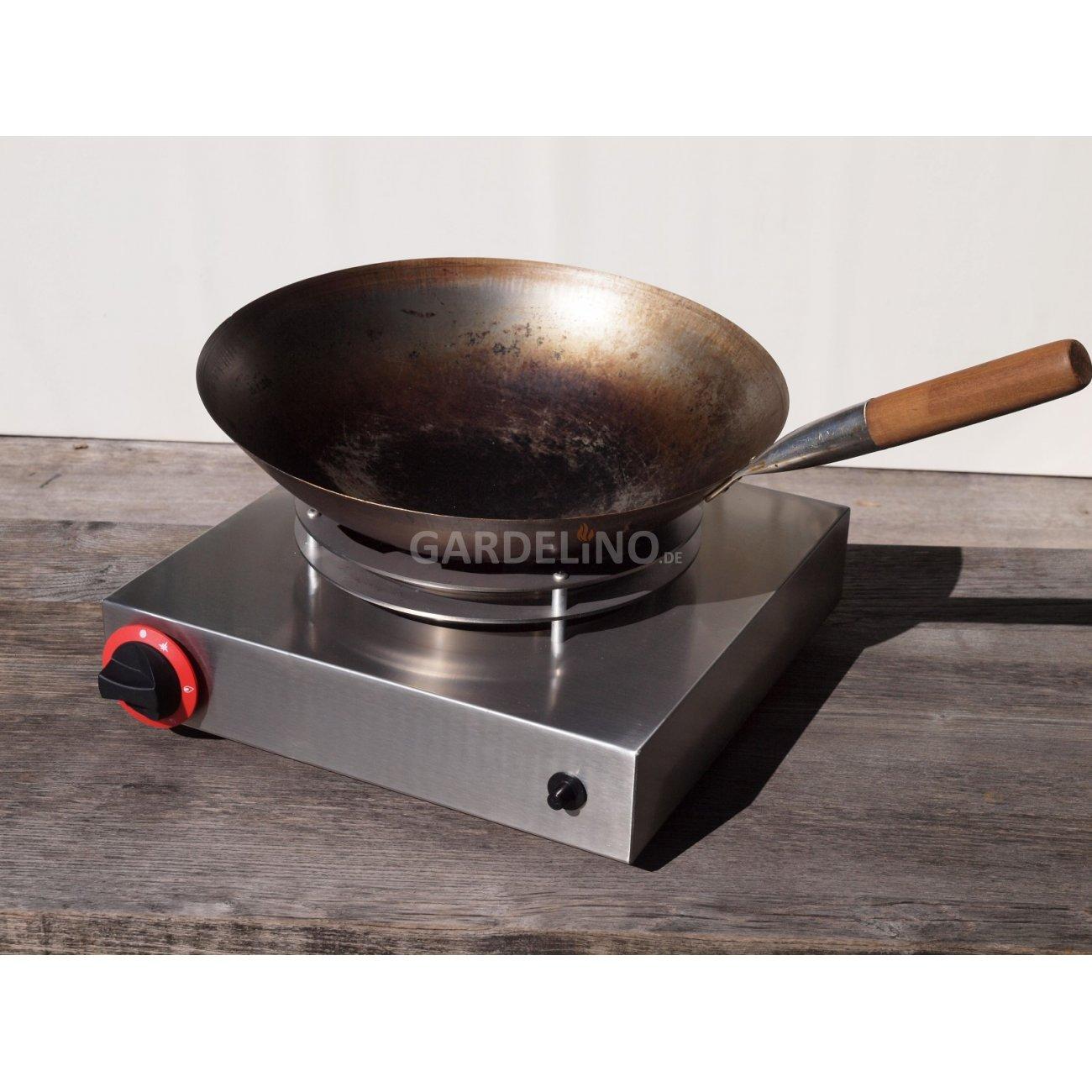 14 kw gas wok brenner zum aufstellen. Black Bedroom Furniture Sets. Home Design Ideas