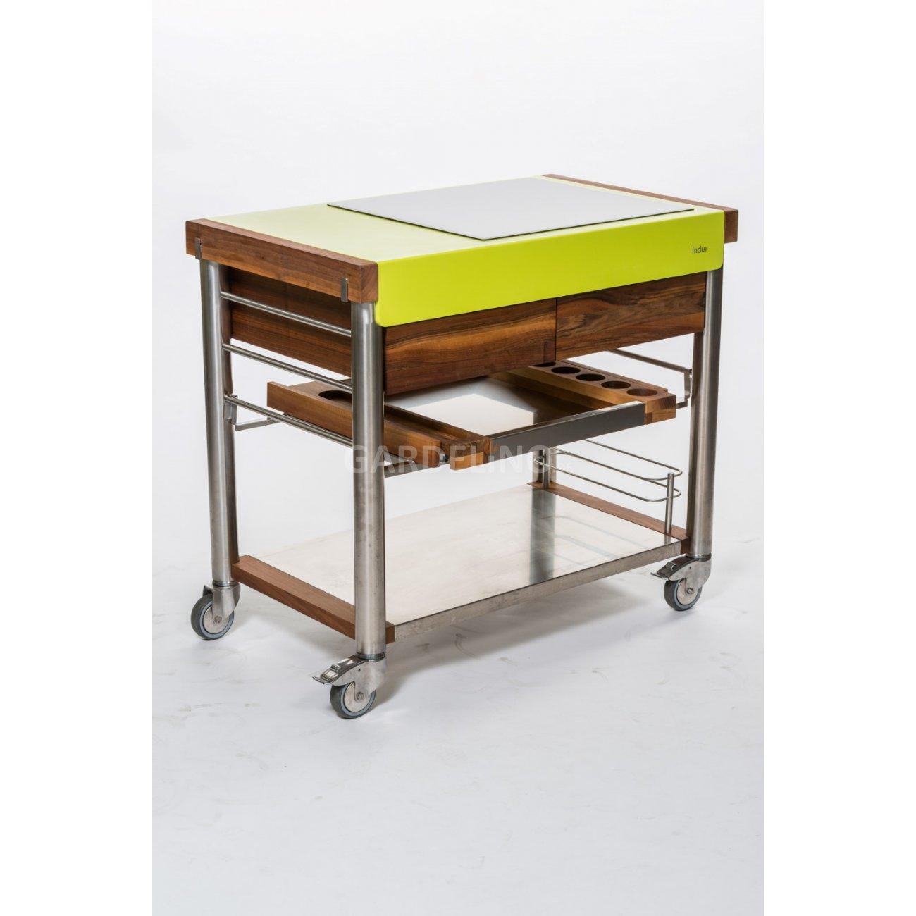 indu+ serveboy mobile gartenküche