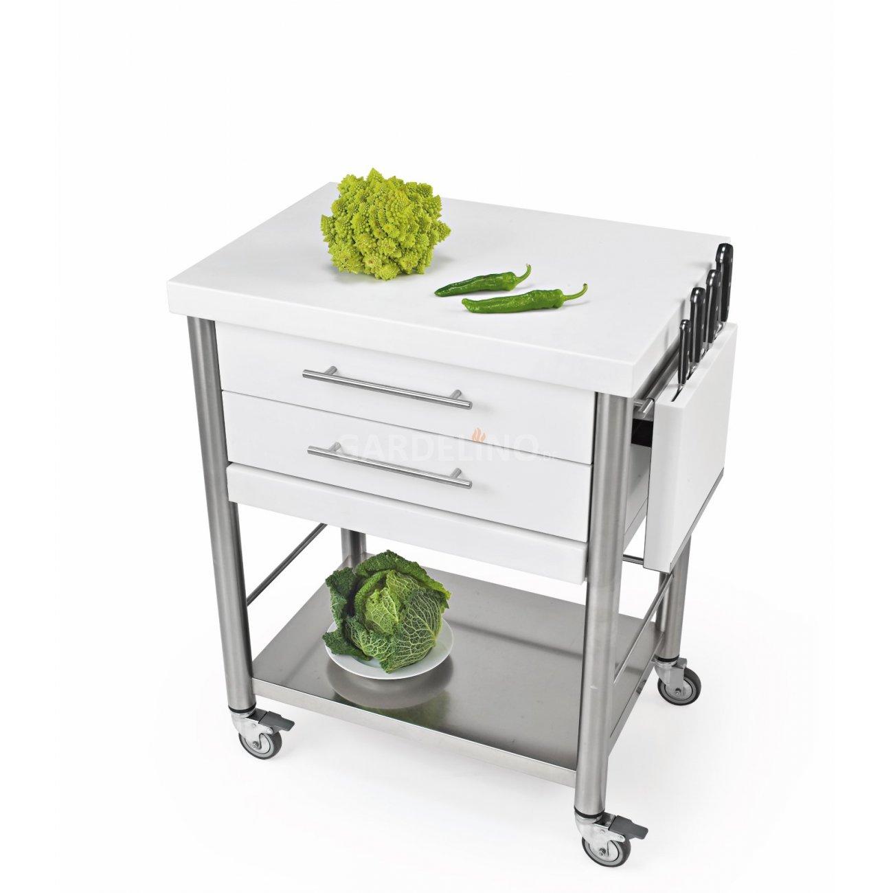 joko domus Auxilium Küchenwagen gross mit zwei Schubladen