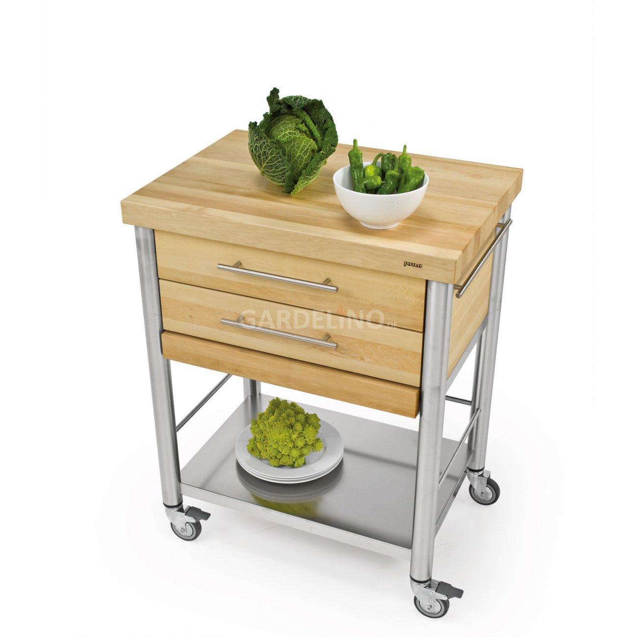 joko domus Auxilium Küchenwagen gross mit zwei Schubladen - 70 x