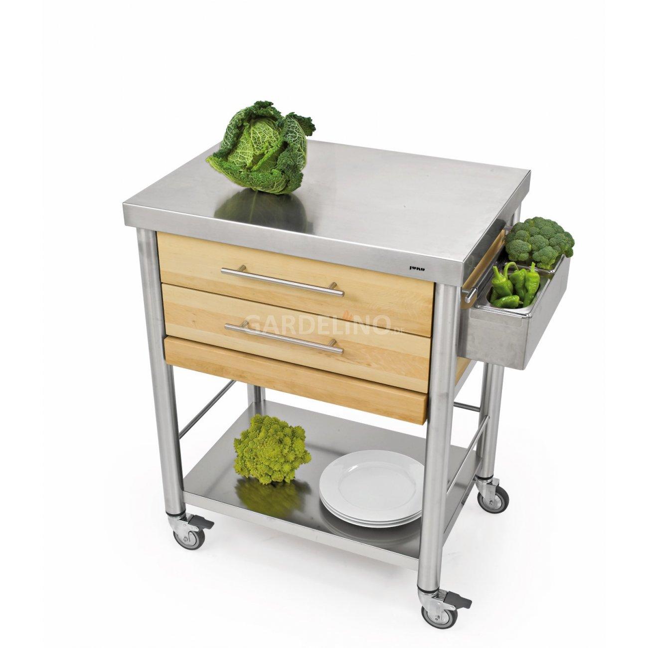joko domus auxilium k chenwagen gross mit zwei schubladen. Black Bedroom Furniture Sets. Home Design Ideas